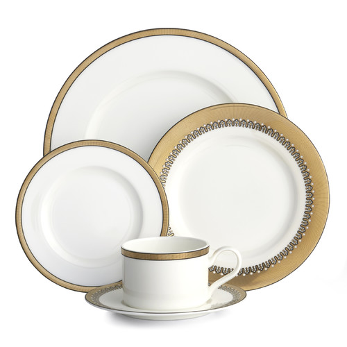 Auratic Inc. Empire 5 Piece Place Setting by Auratic Inc.