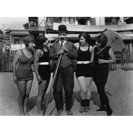 LAMINATED POSTER Beach Mack Sennett Bathing Beauties Silent Film Poster Print 24 x 36