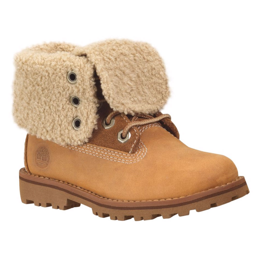 Timberland Girls Authentic 6 Inch Waterproof Shearling Boots by LAUNDRY BY DESIGN