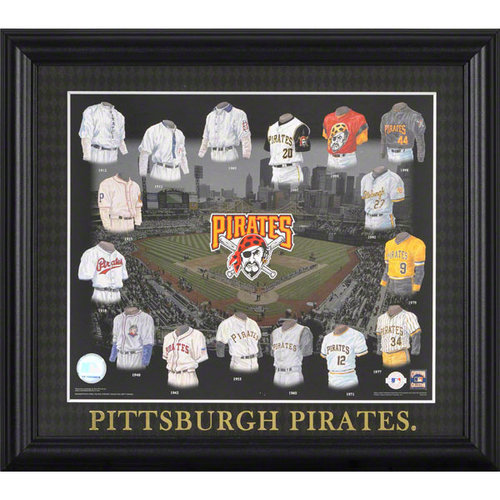 MLB - Pittsburgh Pirates 13x15 Framed Print | Details: Evolution
