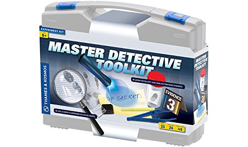 Thames & Kosmos Master Detective Toolkit Science Experiment Kit by Thames & Kosmos LLC