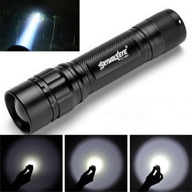 York'Street 3000 Lumens 3 Modes XML XPE 18650 High Power Super Brightness LED Flashlight Torch Lamp