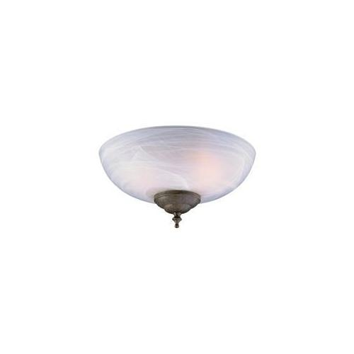 Craftmade LK14CFL Economy Faux Alabaster with Compact Flourescent