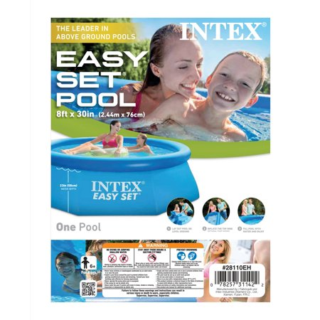 Intex 8 Ft X 30 In Easy Set Swimming Pool Best Easy Set Swimming Pools