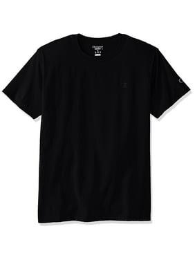 30b156054 Product Image Men's Classic Jersey T-Shirt, Black, XL, Ring-spun cotton  fabric. Champion
