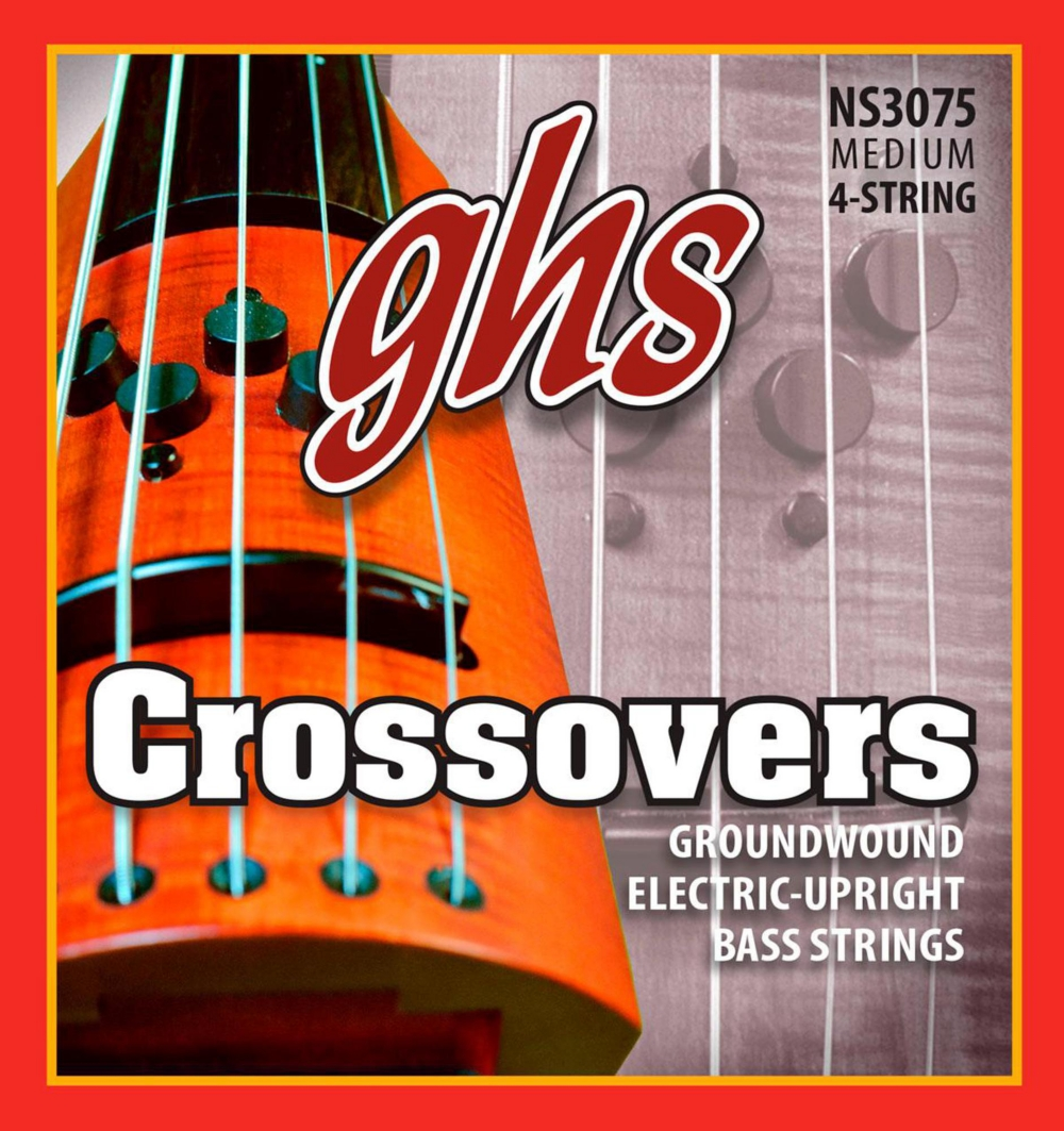 GHS Crossovers NS Design Upright Electric Bass Strings (47-105) by GHS