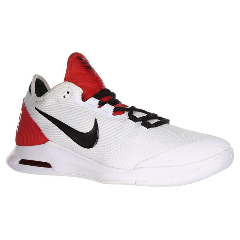 Nike AO7351-100: Men's Air Max Wildcard Red/White/Black Tennis Sneakers (11  D(M) US Men)