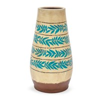Large Vintage Palm Decorative Vase by Drew Barrymore Flower Home