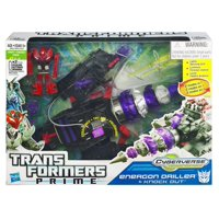 Transformers Prime Cyberverse Vehicles Energon Driller & Knock Out