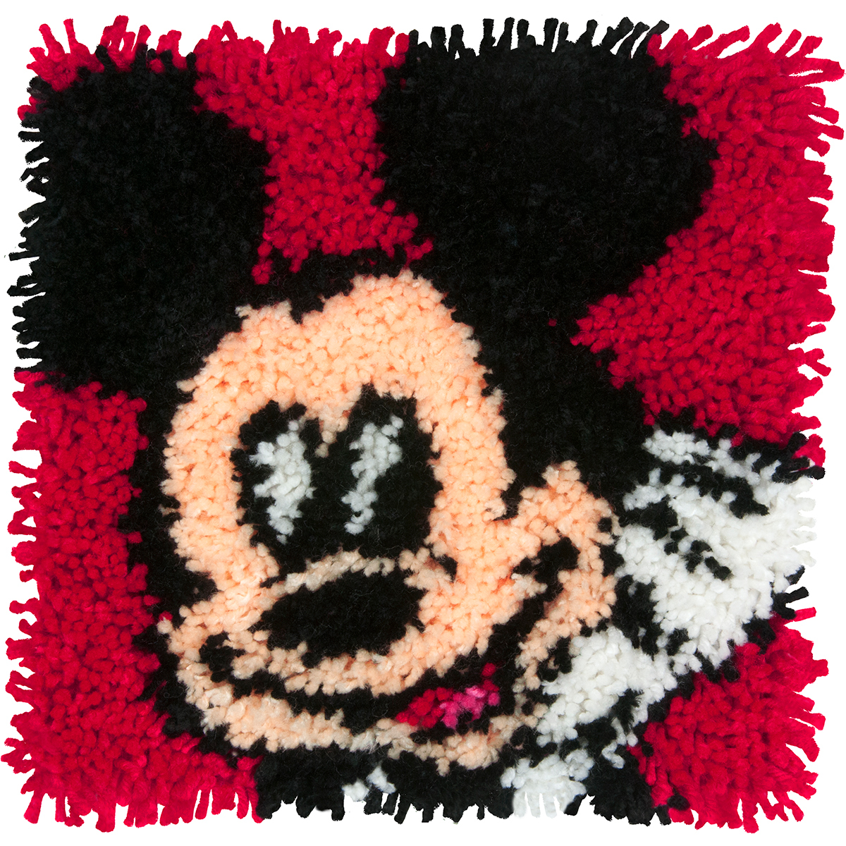 "Dimensions Disney Latch Hook Kit 12""X12""-Mickey Mouse"