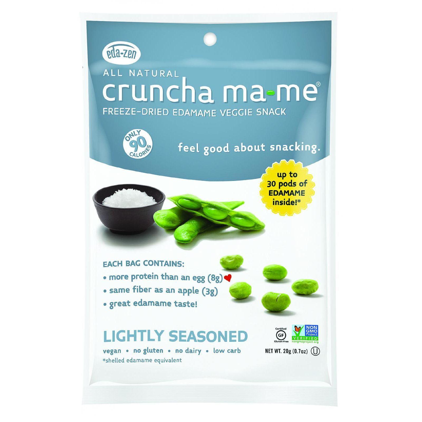 Cruncha MaMe Veggie Snack, Freeze-Dried Edamame, Lightly Seasoned by EDA-ZEN