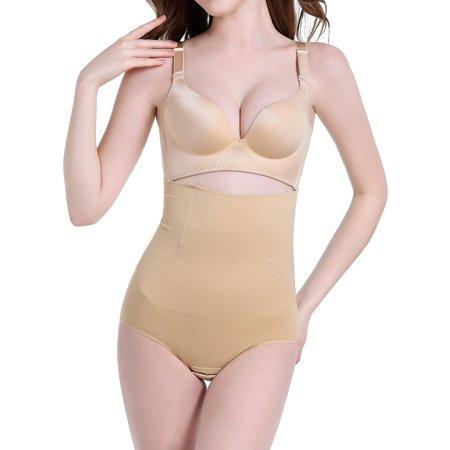 6aa23ecf10 SAYFUT Womens Firm Smooth Hi-Waist Shaping Brief Seamless Waist Cincher  Corset Shapewear Tummy Control Body Shaper - Walmart.com