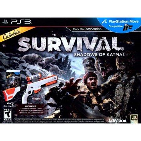 Cabela's Survival Adventures: Shadows of Katmai with gun