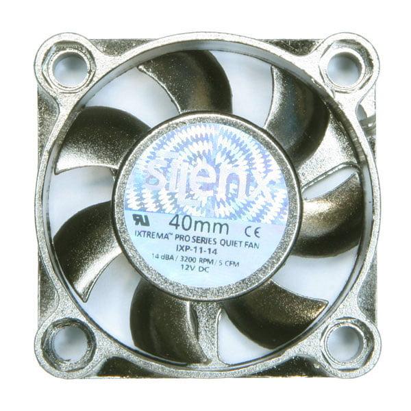 Silenx IXP-11-14 iXtrema Pro 40x10mm 14dBA 5CFM PC Computer Case Fan