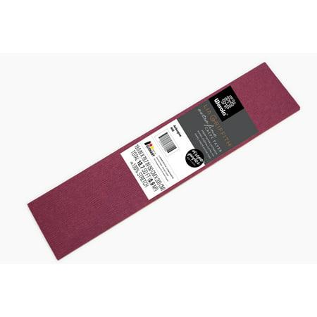 Lia Griffith Extra Fine Crepe Paper, Aubergine Purple Craft - Crepe Paper Sheets