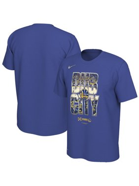 a9807a0f6 Product Image Golden State Warriors Nike 2019 NBA Playoffs Bound City DNA  Dri-FIT T-Shirt