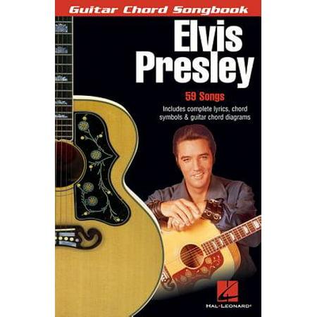 Guitar Chord Songbook Book - Elvis Presley : Guitar Chord Songbook (6 Inch. X 9 Inch.)