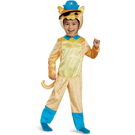 Octoanuts Kwazii Cat Classic Toddler Halloween Costume](Kitty Cat Toddler Costume)