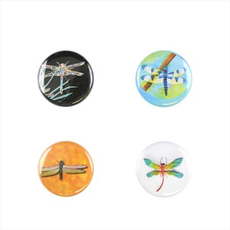 Il Bere C Drfly B Wine And Drink Charms Animal Collection   Colorful Dragonflies