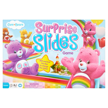 Wonder Forge Care Bears Surprises Slides Game Preschool Age 3+