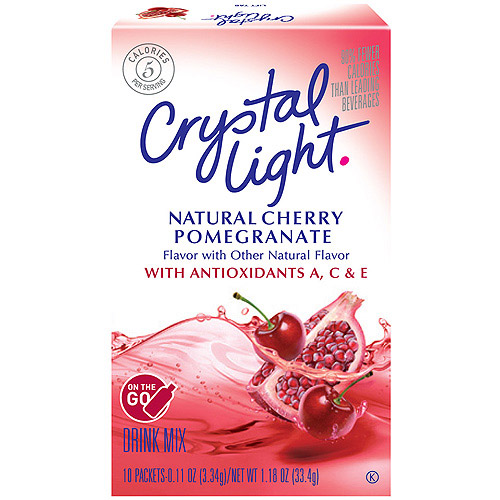 Crystal Light On The Go Immunity Cherry Pomegranate Enhanced Drink Mix, 10ct