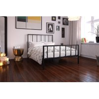 DHP Stella Metal Platform Bed, Multiple Colors, Multiple Sizes