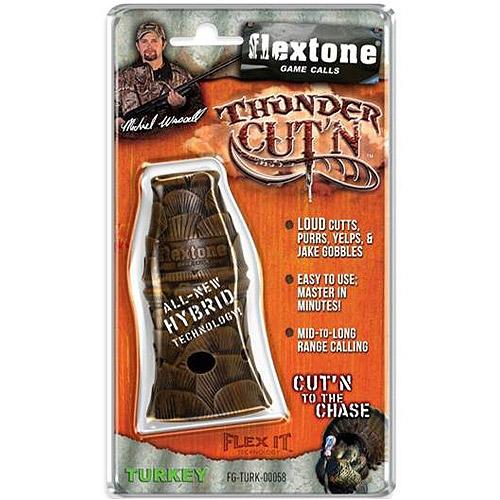 Evolved Flextone Thunder Cutter Turkey Call