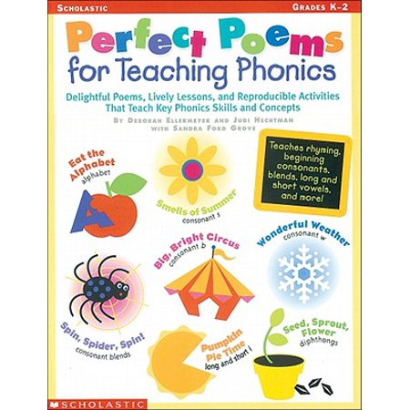Perfect Poems for Teaching Phonics : Delightful Poems, Lively Lessons, and Reproducible Activities That Teach Key Phonics Skills and Concepts (Halloween Poems Teaching Resources)