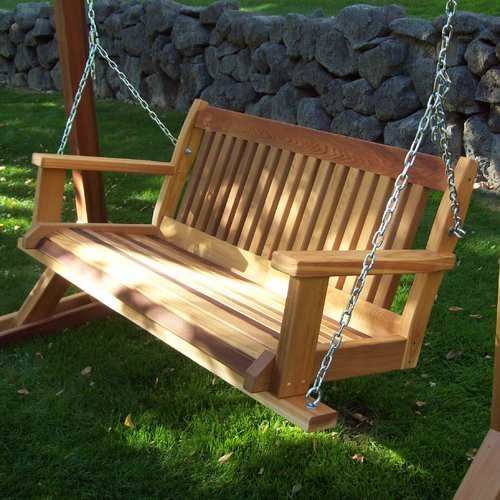 Wood Country Cabbage Hill Porch Swing by Wood Country