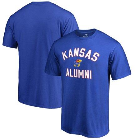 Kansas Jayhawks Fanatics Branded Big & Tall Team Alumni T-Shirt - Blue