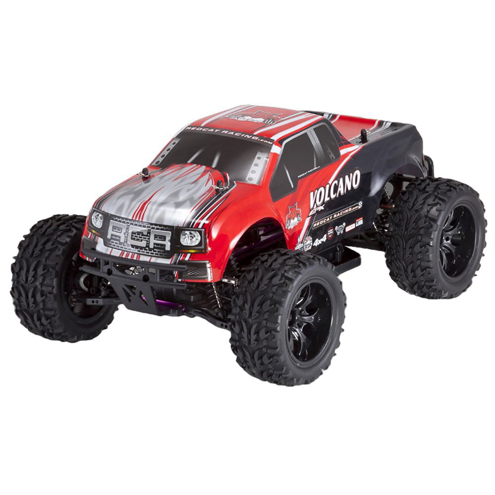 Redcat Racing Volcano EPX 1:10 Scale Electric 19T Monster Truck, Red and Black by Redcat Racing
