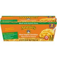 Annie's Real Aged Cheddar Mac & Cheese Micro Cup 4.02 oz