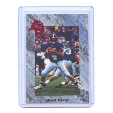 1991 Classic Four Sport #129 Brett Favre Atlanta Falcons Rookie Card