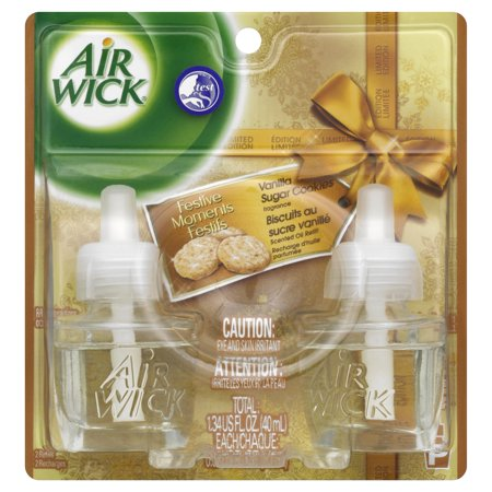 Air Wick  Vanilla Passion Fragrance Scented Oil Refill 2 Ct Carded Pack