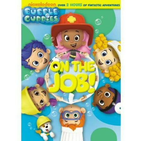 Bubble Guppies: On the Job! (DVD) - Bubble Guppies Games Halloween