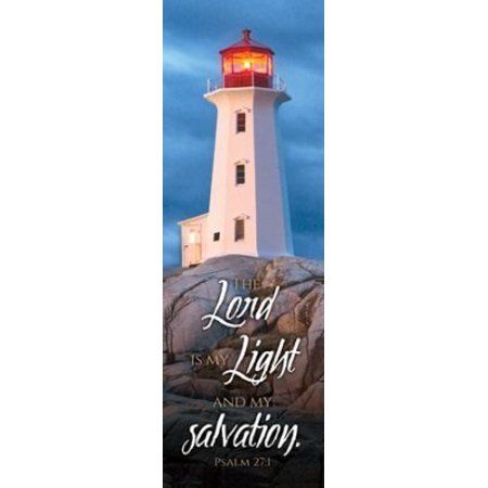 Handcrafted Bookmark (The Lord is My Light (Psalm 27:1) Bookmarks (Pack of 25) )