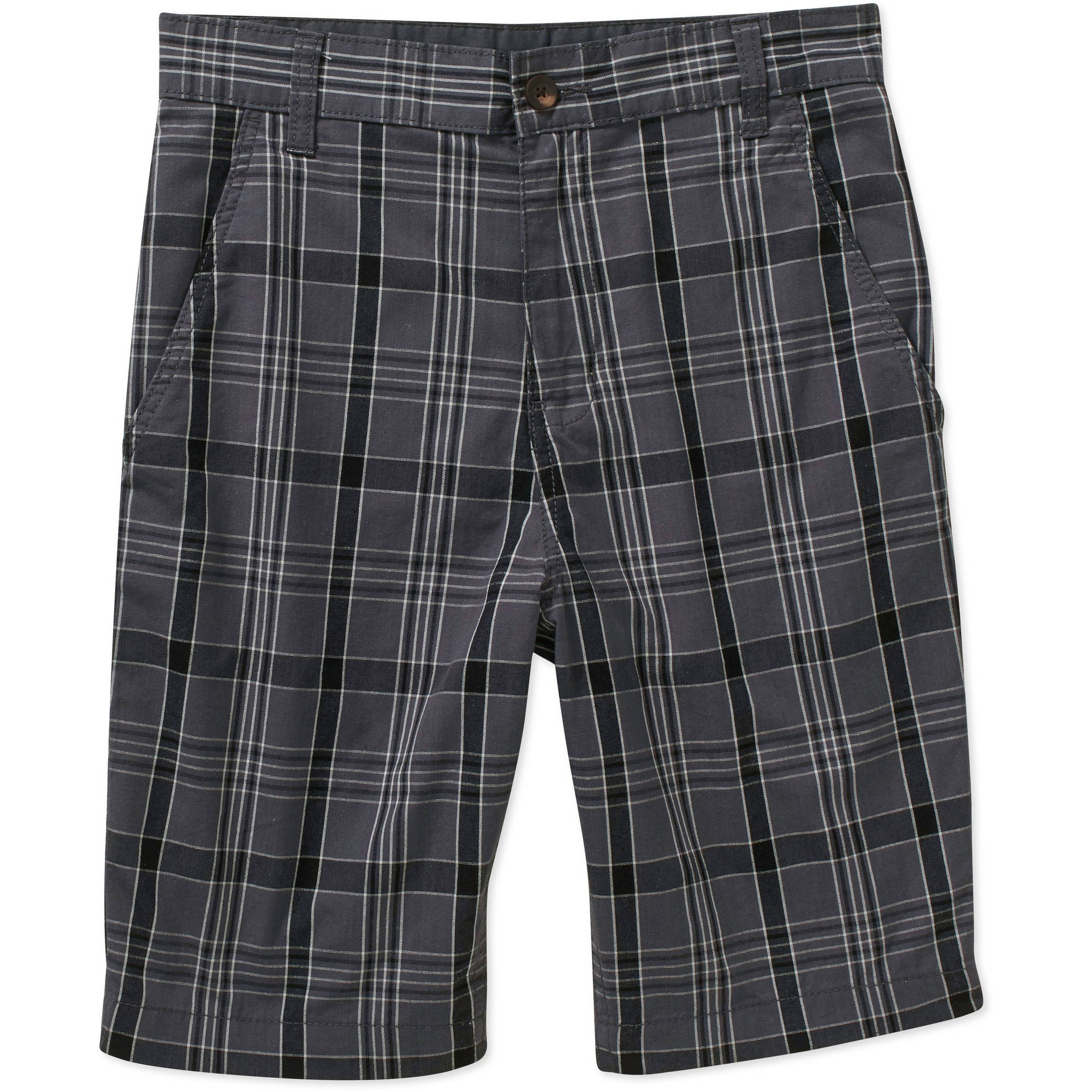 Faded Glory Big Men's Flat Front Twill Short