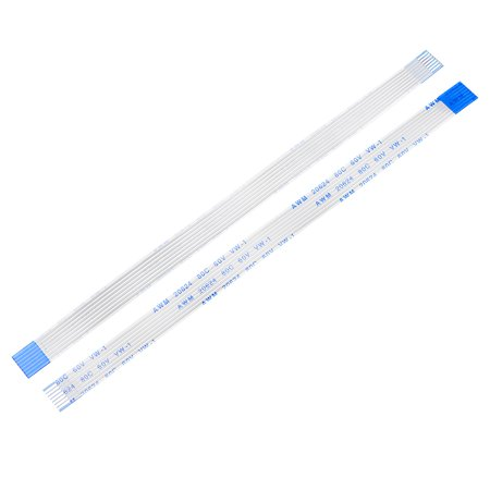 Flexible Flat Cable 150mm 1mm Pitch 12 Pins FPC FFC Flexible Ribbon Cable  for LCD TV Car Audio DVD Player 5Pcs (A type) 12 Pin Connection Cable
