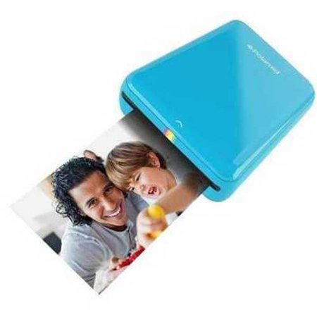 Polaroid Zip Mobile Printer W Zink Zero Ink Printing Technology   Compatible W Ios   Android Devices   Blue