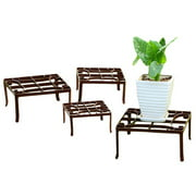 SPI Home Square 4 Piece Plant Stand Set
