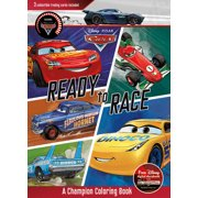 Disney Pixar Cars Ready to Race: A Champion Coloring Book (Paperback)