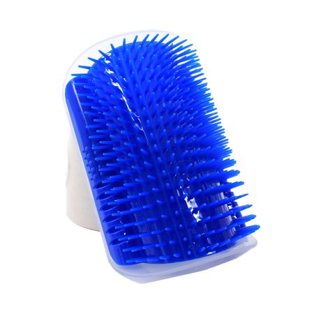 Pet Cat Self Groomer Grooming Tool Hair Removal Brush Comb Dogs Cats Hair Shedding Trimming Massage Device - image 2 de 9