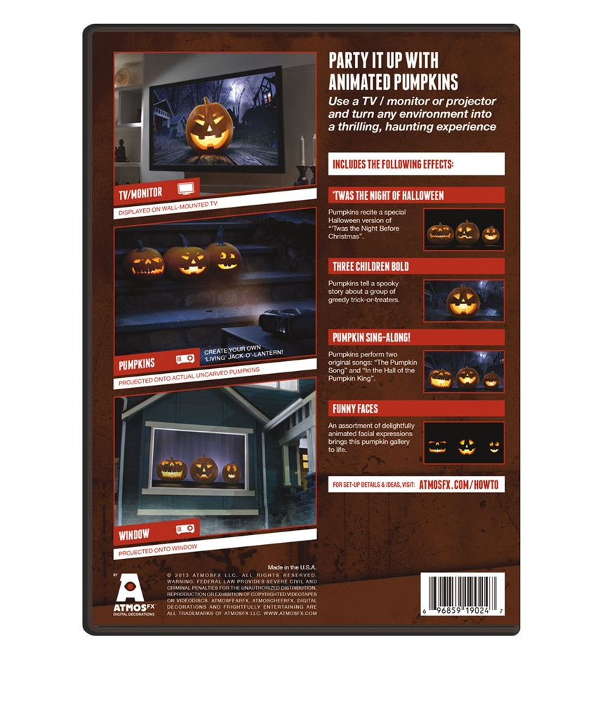 atmosfearfx digital decoration halloween dvd walmartcom