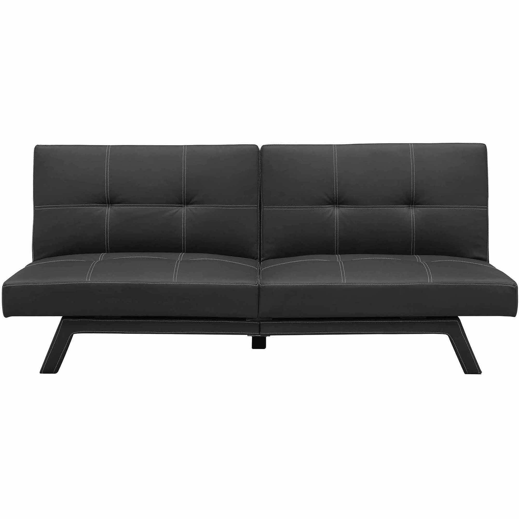 Delaney Split Back Futon Sofa Bed Multiple Colors Walmart