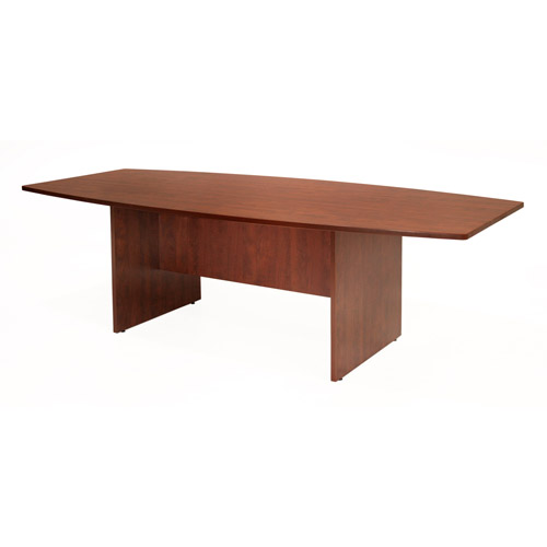 """Regency 95"""" Boat Shaped Conference Table"""