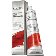 Clairol Premium Cr?me Demi Permanent Hair Color - #4R Light Red Brown 2 oz. (Pack of 2)