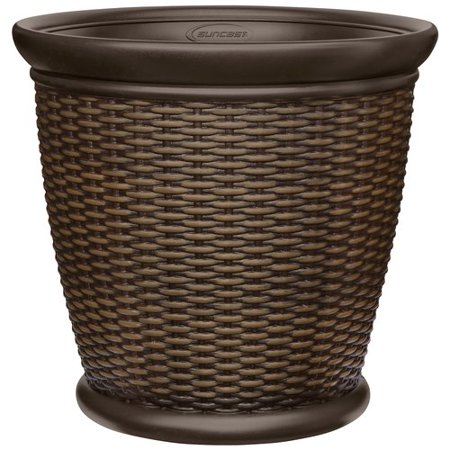 Better Homes And Gardens 22 Quot Wicker Planter Walmart Com