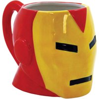 ICUP Marvel Comics Iron Man Molded Head 19 oz Ceramic Mug
