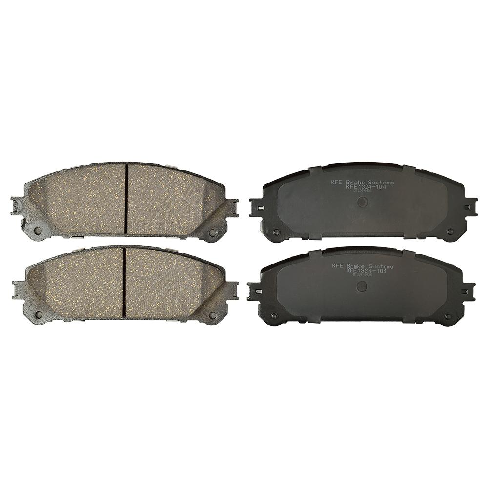 For Lexus NX200t NX300 NX300h Front+Rear Brake Rotors /& Ceramic Pads
