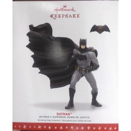 Hallmark Keepsake 2016 Christmas Ornament BATMAN V SUPERMAN: DAWN OF JUSTICE BATMAN Ornament (Batman Christmas)